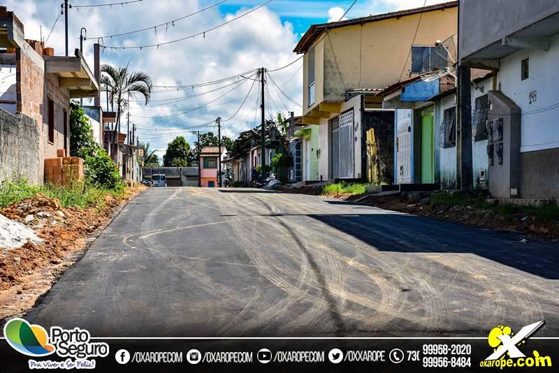 88c3d9ea0 Asfalto já é realidade no bairro Nilo Fraga   oXarope.com